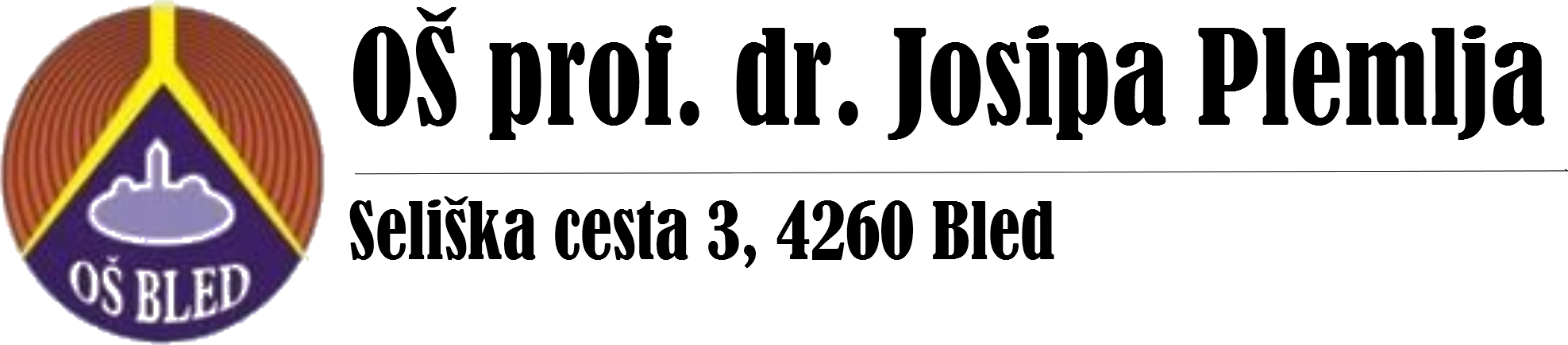 OŠ prof. dr. Josipa Plemlja Bled